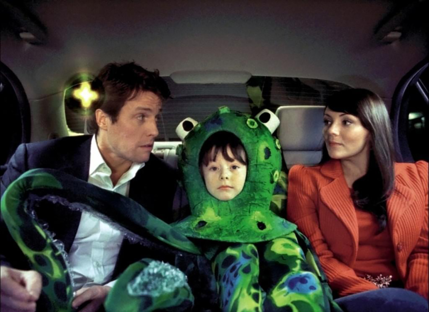 Love Actually Natalie, Prime Minister and Octopus boy car scene