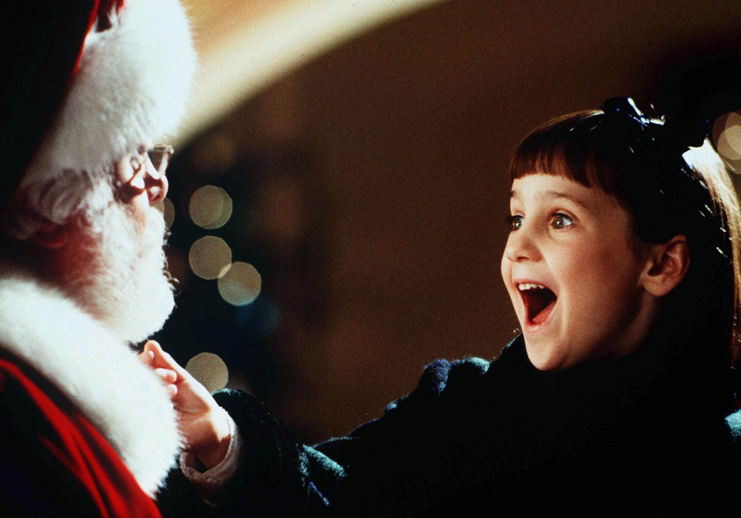 Miracle on 34th street Susan Walker seeing Santa Claus