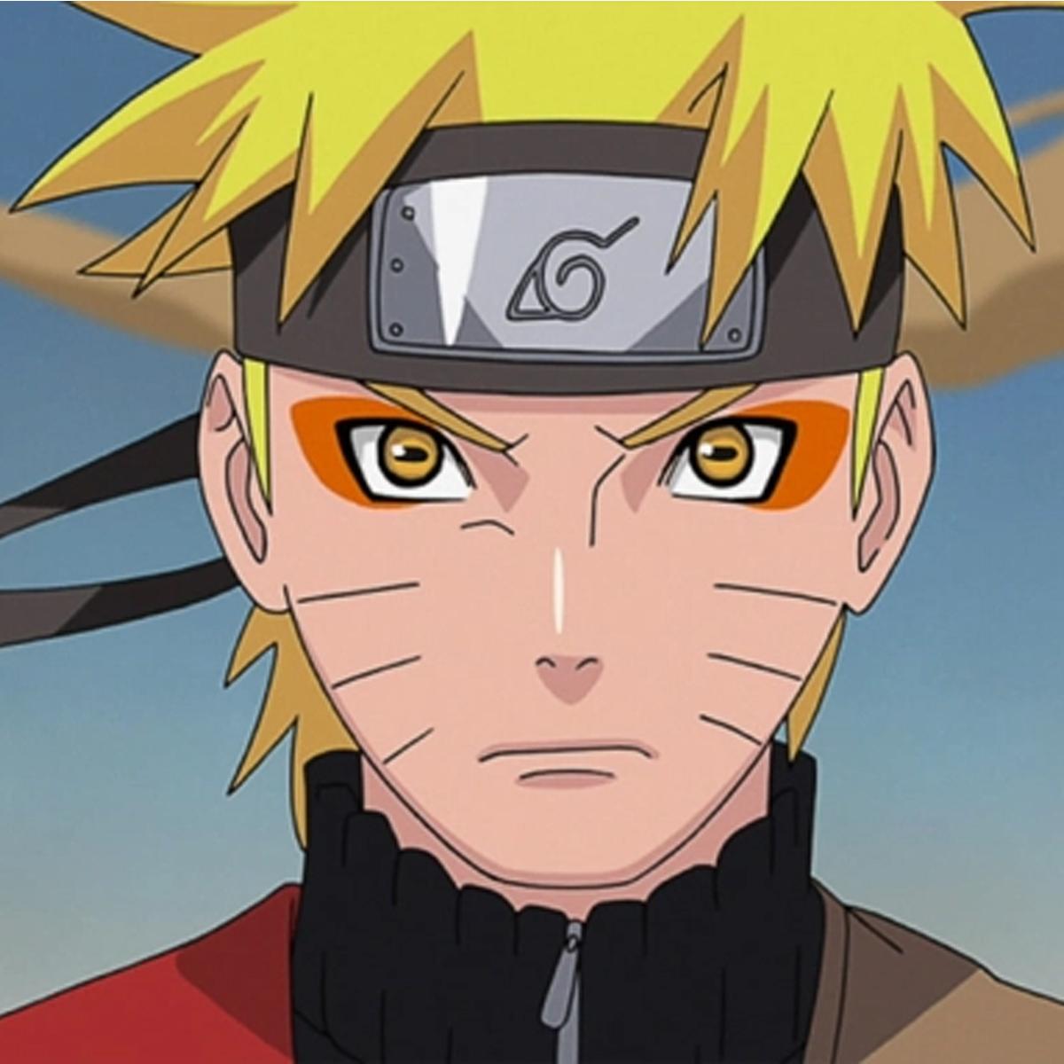Naruto Uzumaki close-up
